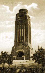 Der Bismarckturm in Guben