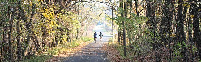 Radwandern in Guben