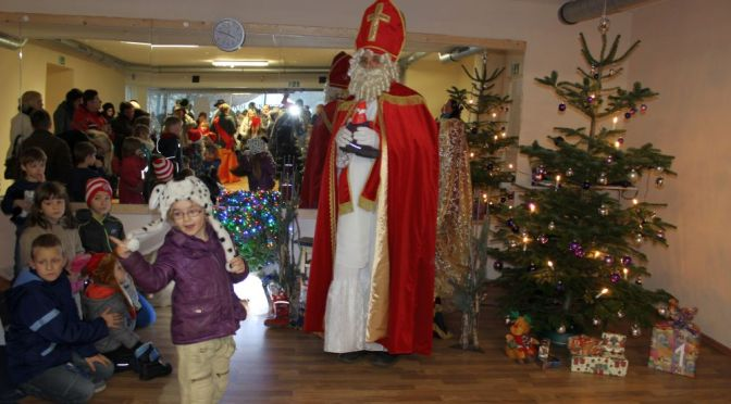 Nikolausfest und Adventsmarkt am 06.12.2014 in Obersprucke