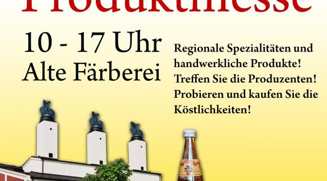 Dritte Produktmesse in der Alten Färberei