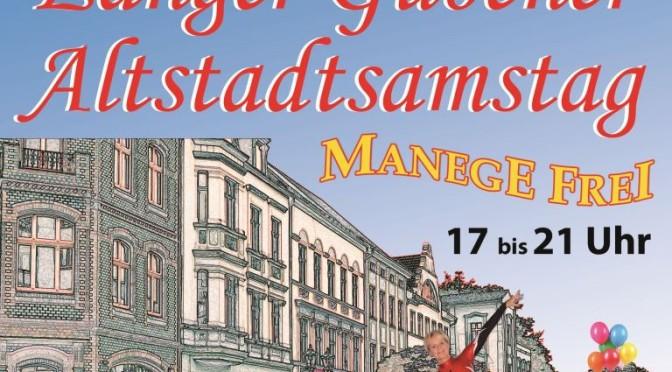 Gubener Händler laden zum Altstadtsamstag