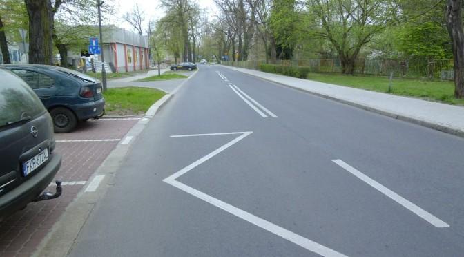 Erneuerung der Roosevelta-Straße in Gubin