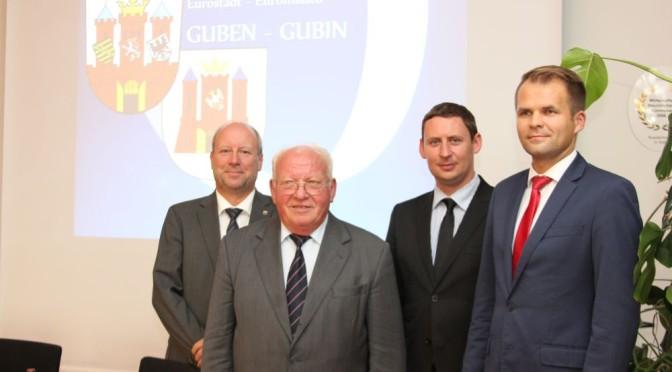 """Gemeinsame Kommission """"Eurostadt Guben-Gubin"""" nimmt Arbeit auf"""