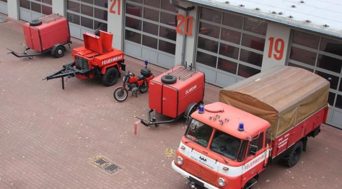 Alte Feuerwehr-Fahrzeuge kommen unter den Hammer