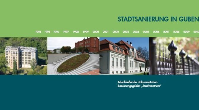 """Guben veröffentlicht neue Broschüre zum Sanierungsgebiet """"Stadtzentrum"""""""