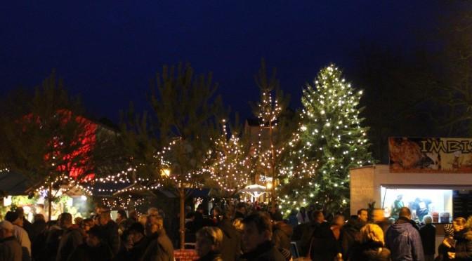 Guben lädt am dritten Advent zum Weihnachtsmarkt auf dem Dreieck