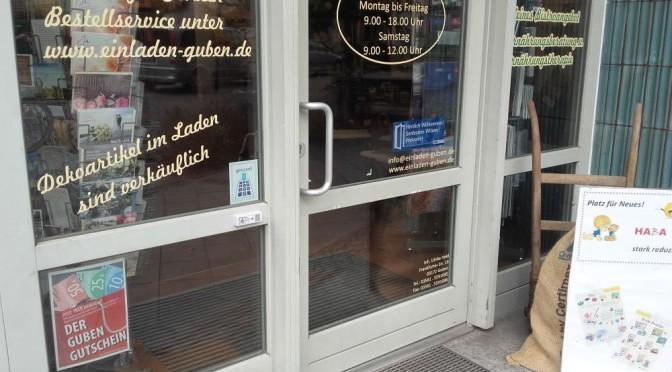 Gubener Altstadthändler und Einrichtungen setzen auf Barrierefreiheit
