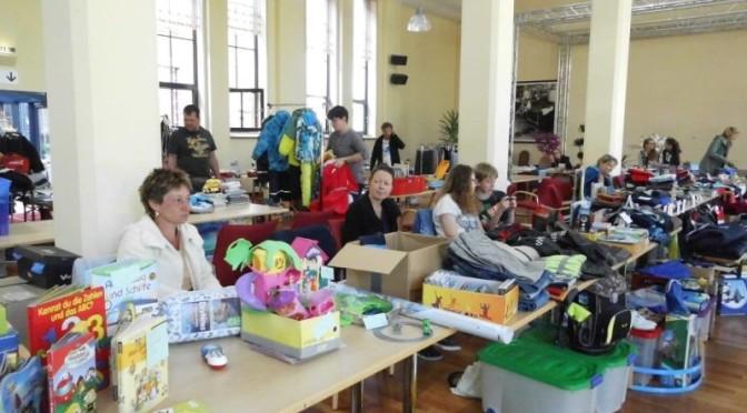 Die Stadt Guben lädt zum Kinderflohmarkt in die Alte Färberei