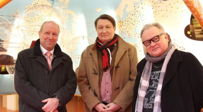 Sänger Heinz Rudolf Kunze besucht seinen Herkunftsort Guben