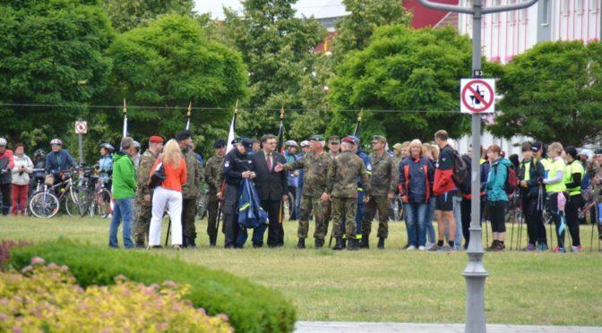 Anmeldung zum 21. Oderlandmarsch in der Neißestadt noch vor Ort möglich