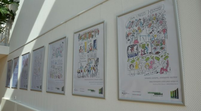 Comicausstellung im Kreishaus