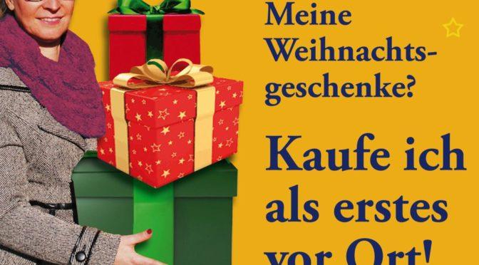 Händler beraten zu Adventsaktionen und Guben-Gutschein
