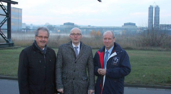 Brandenburgs Staatskanzleichef besucht Gubener Industriegebiet