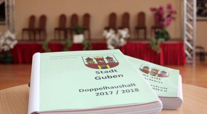 Stadt Guben stellt neuen Doppelhaushalt auf Bürgerversammlung vor