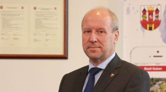 Gubens amtierender Bürgermeister lädt zur Bürgerversammlung