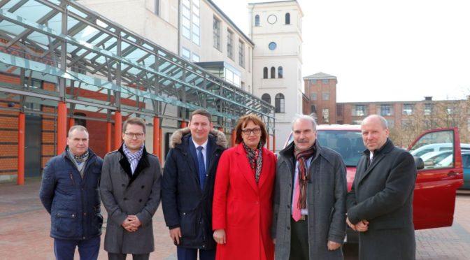 Brandenburgs Staatssekretär Gorholt besucht Doppelstadt Guben-Gubin