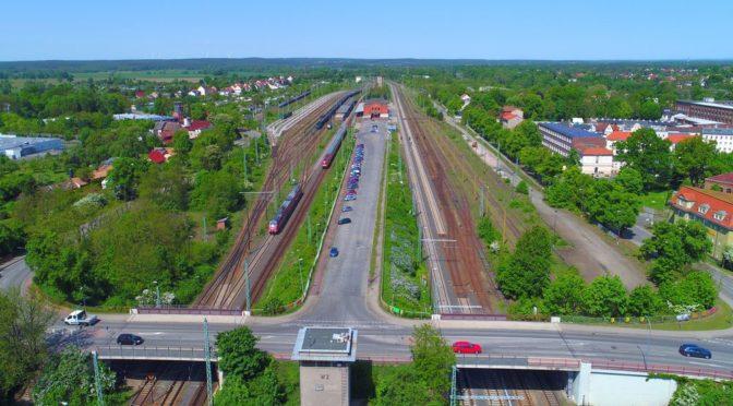Bauarbeiten am Bahnhofsumfeld starten – Sperrungen notwendig