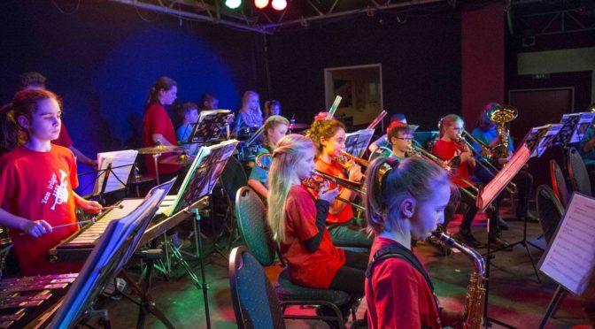 Gubener Bläserklassen geben Schülerkonzert in Eisenhüttenstadt