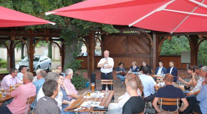 Positive Resonanz auf erstes Unternehmertreffen in Guben
