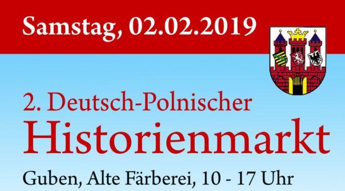 Deutsch-Polnischer Historienmarkt lädt zum zweiten Mal in Gubens Alte Färberei