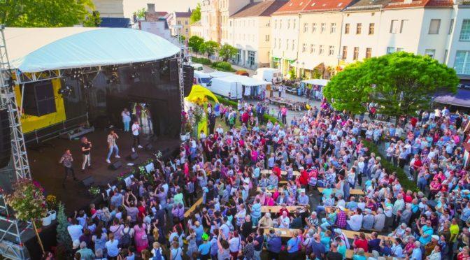 Save the date –15. bis17. Mai 2020 Frühlingsfest Guben