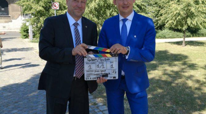 Bürgermeister Fred Mahro ist Preisträger der Europaurkunde