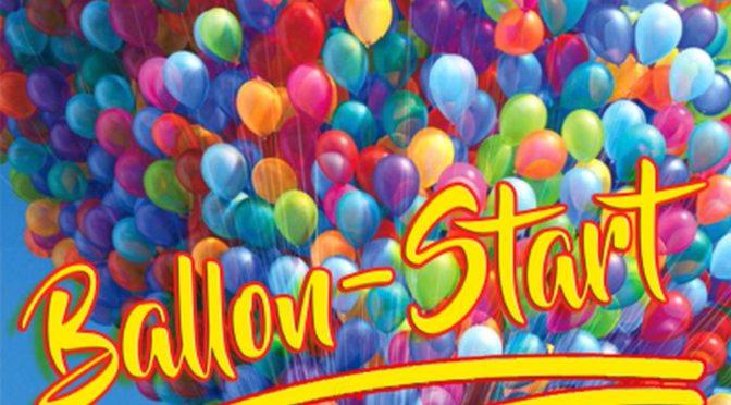 Ballonstart am 01. Juli 2020 auf dem Schillerplatz