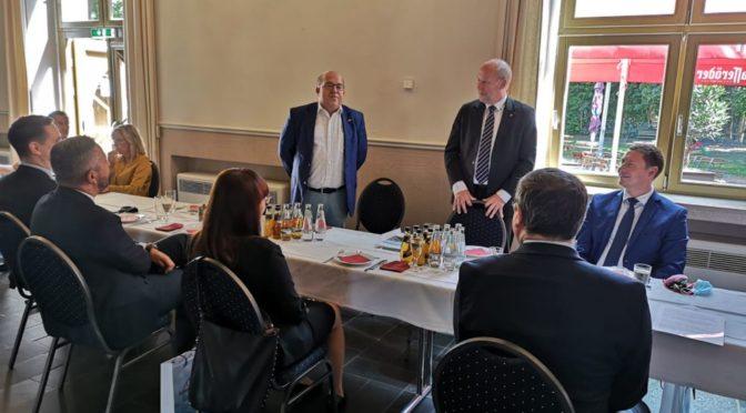 """Abschluss des Projektes: """"Verbesserung der grenzüberschreitenden Verkehrssituation der Eurostadt Gubin-Guben"""""""