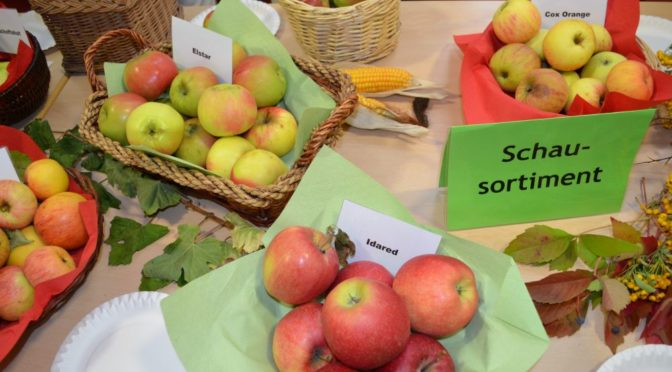 Das kleine Apfelfest am 19. September 2020