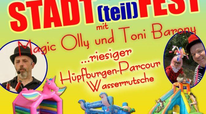 """Stadtteilfest """"Wohnpark Obersprucke"""" – 18. September 2020 ab 14:00 Uhr"""